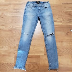 Lucky Brand Skinny Jeans Distressed